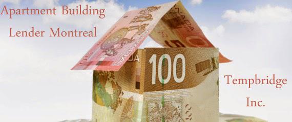 Apartment Building Lender Montreal